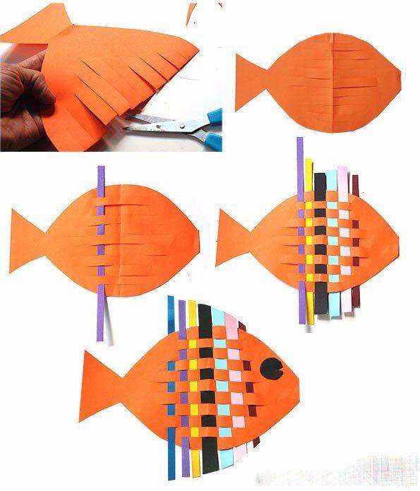 картинки цветные рыбки для детей