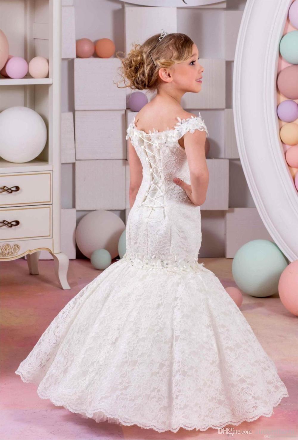 Vestido para boda nina