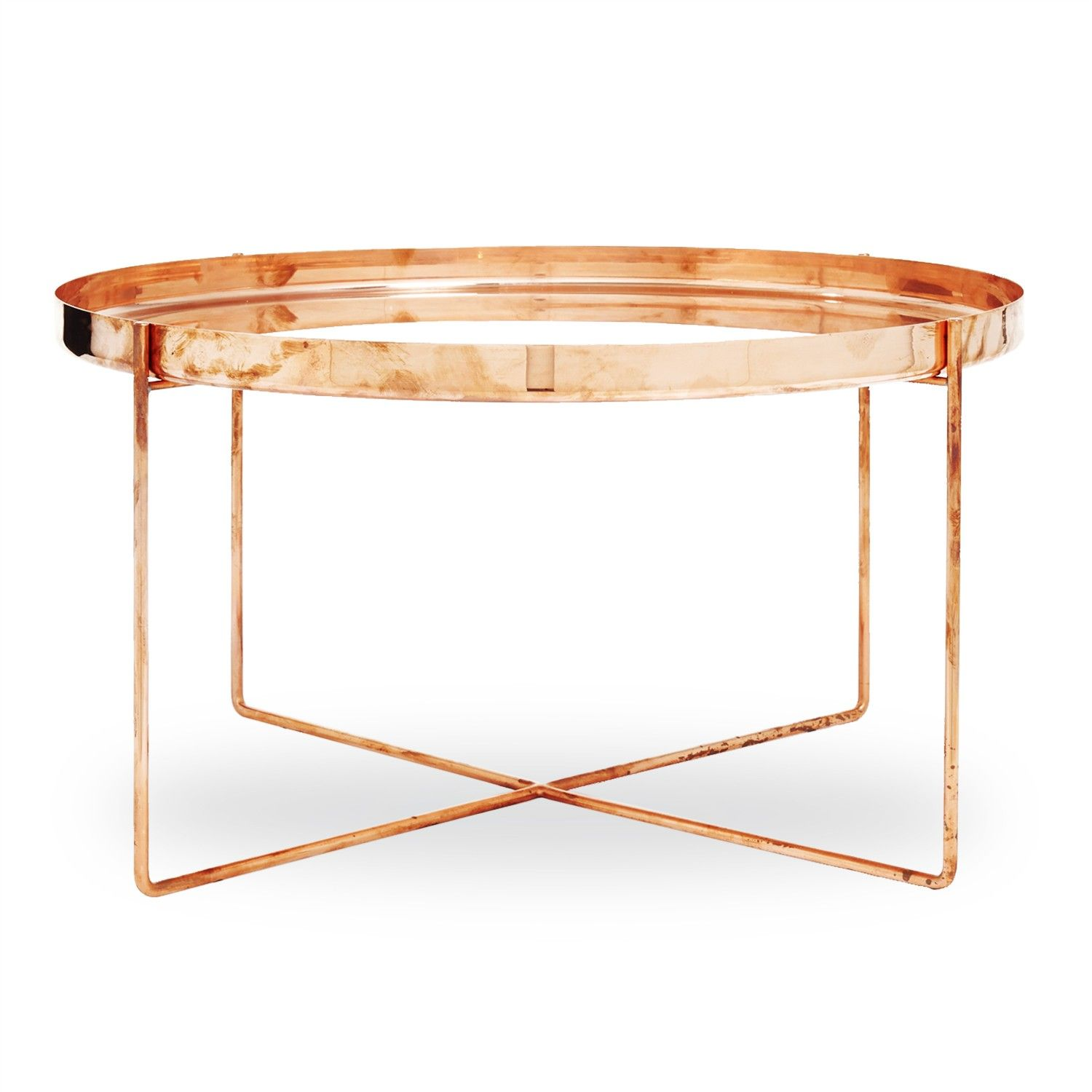 Simple, Yet Strikingly Sculptural, The Ornate Side Table