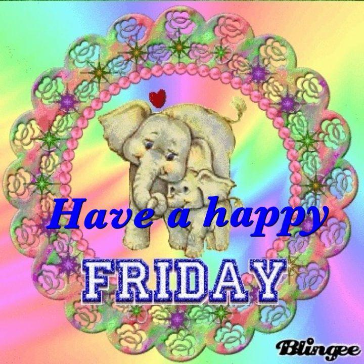 Resultado de imagen para Blingee happy friday elephants images