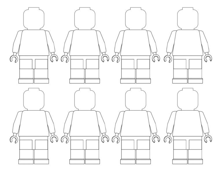 15++ Blank lego coloring pages ideas