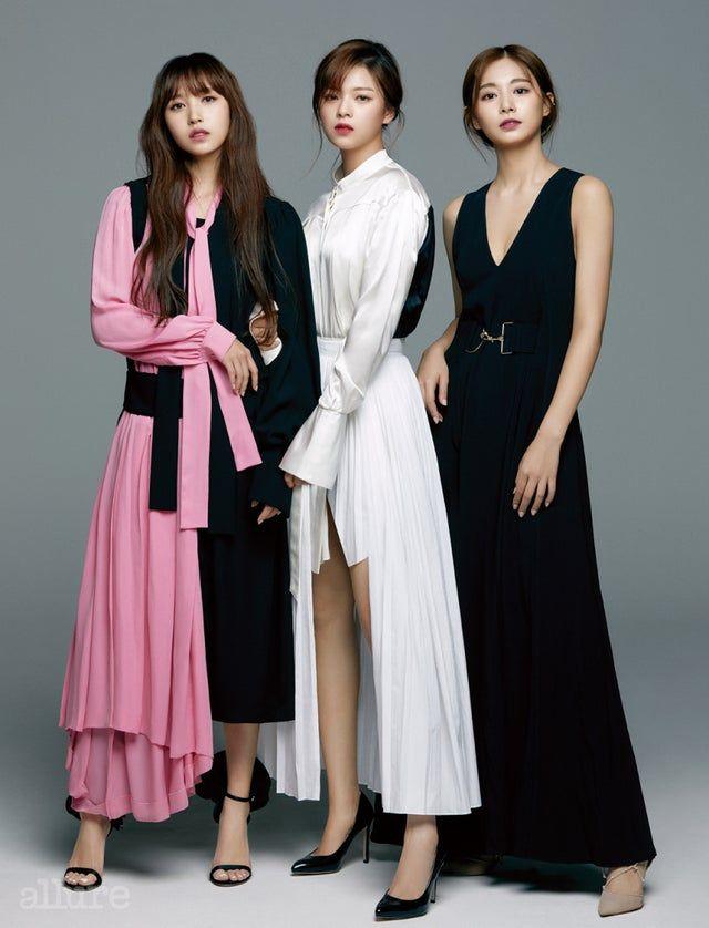 Elegant Mina, Jeongyeon & Tzuyu