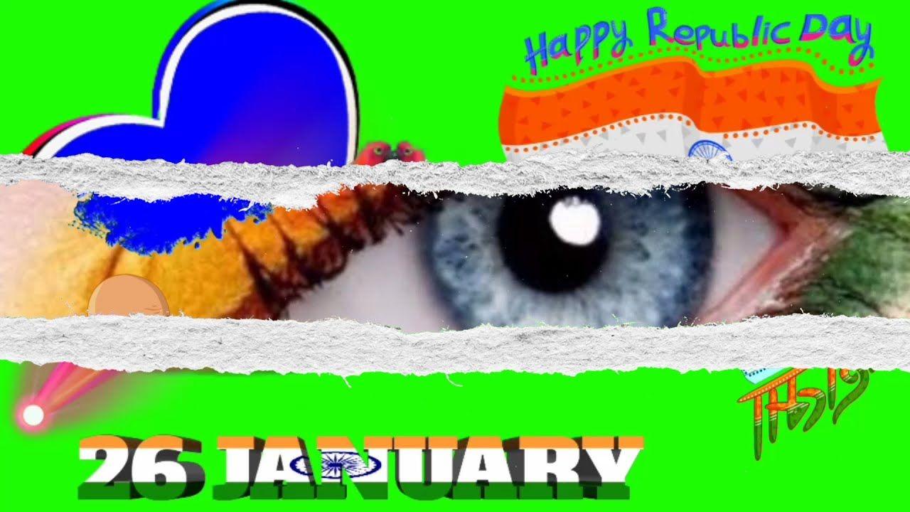 26 January 2021 Indian Happy Republic Day Green Screen Video Effects Fu In 2021 Republic Day Greenscreen Green Screen Video Effect 26 january 2021 images download video