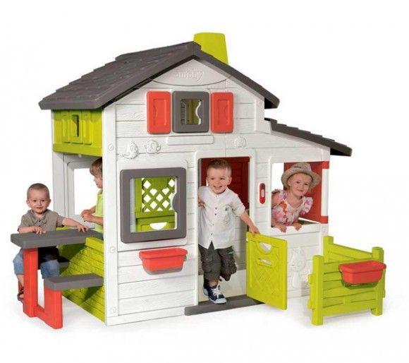 Maisonnette enfant - Friends House Smoby 260 e Salle de jeux