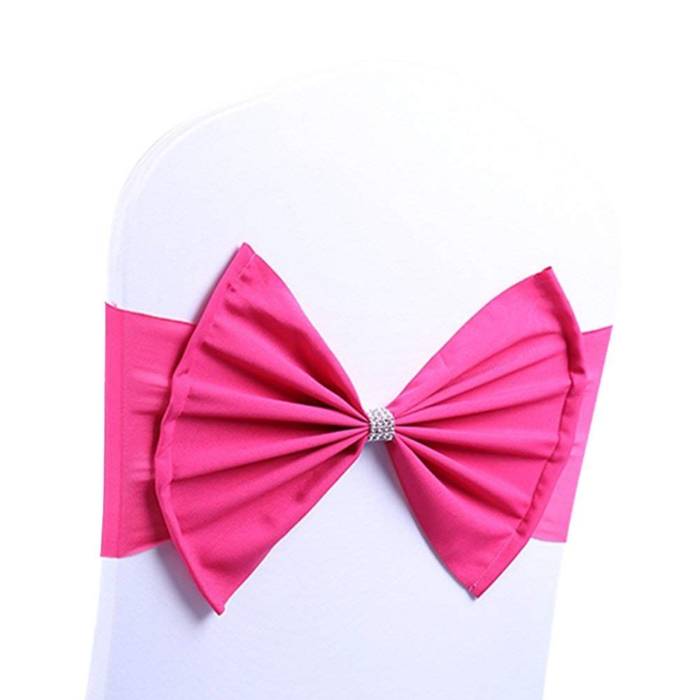 Arksu chair sash band with bow ties elastic