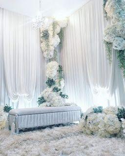 pelamin simple 2018 | dekorasi pernikahan, ide perkawinan