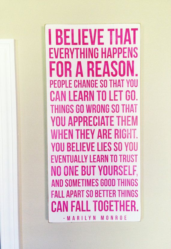 Everything Happens For A Reason My Designs Quotes Sayings