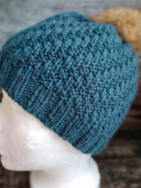 Scala hat/toque/beanie digital knitting pattern by ...