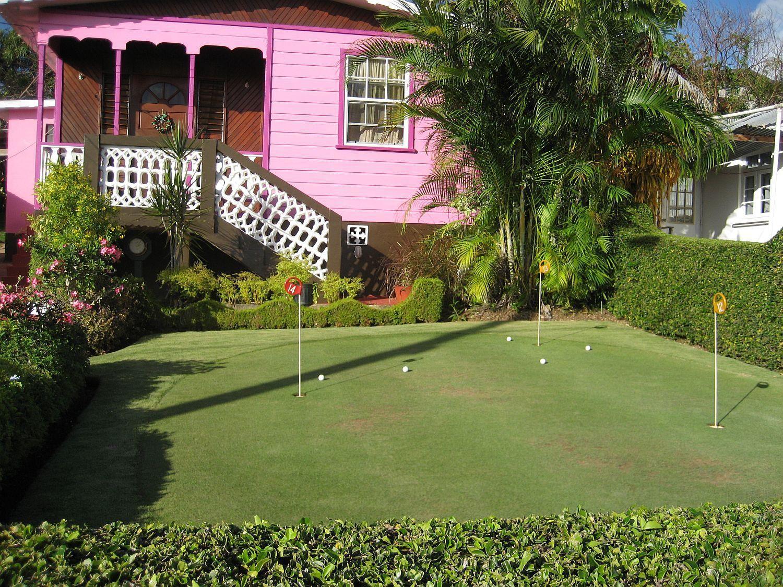 Backyard golf anyone?   Backyard, House design, Golf courses