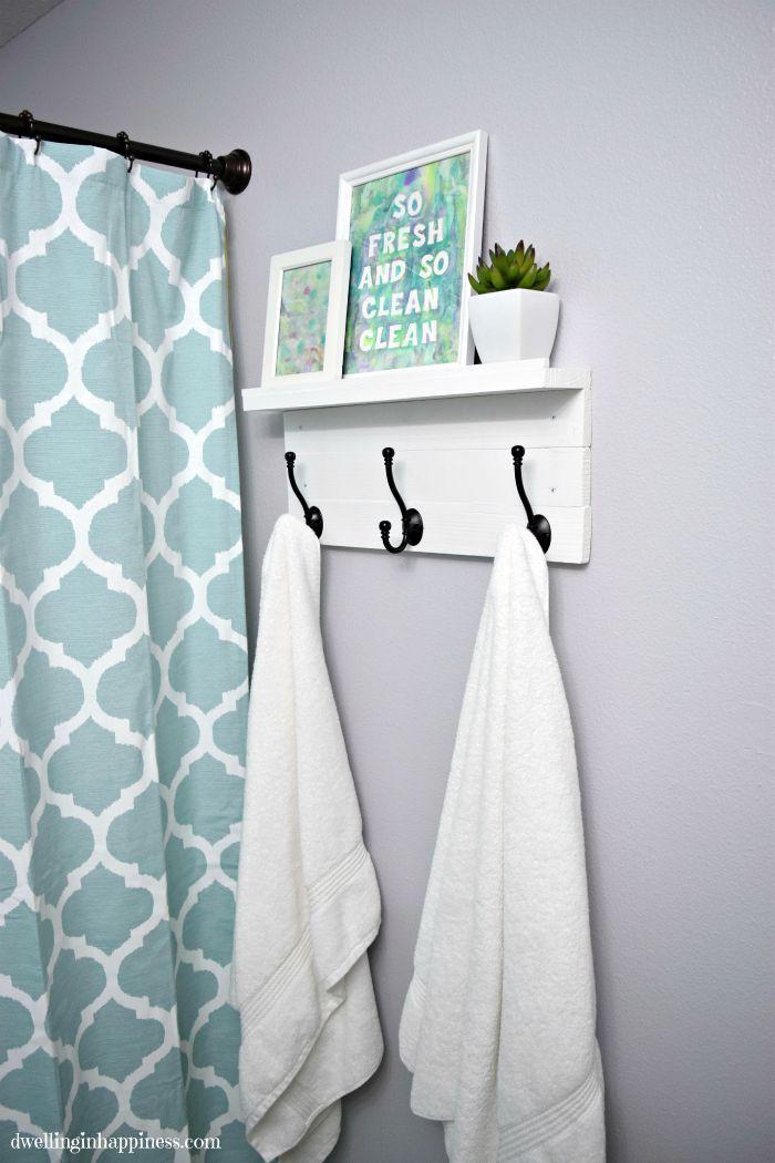 Bathroom Towel Rack Stand