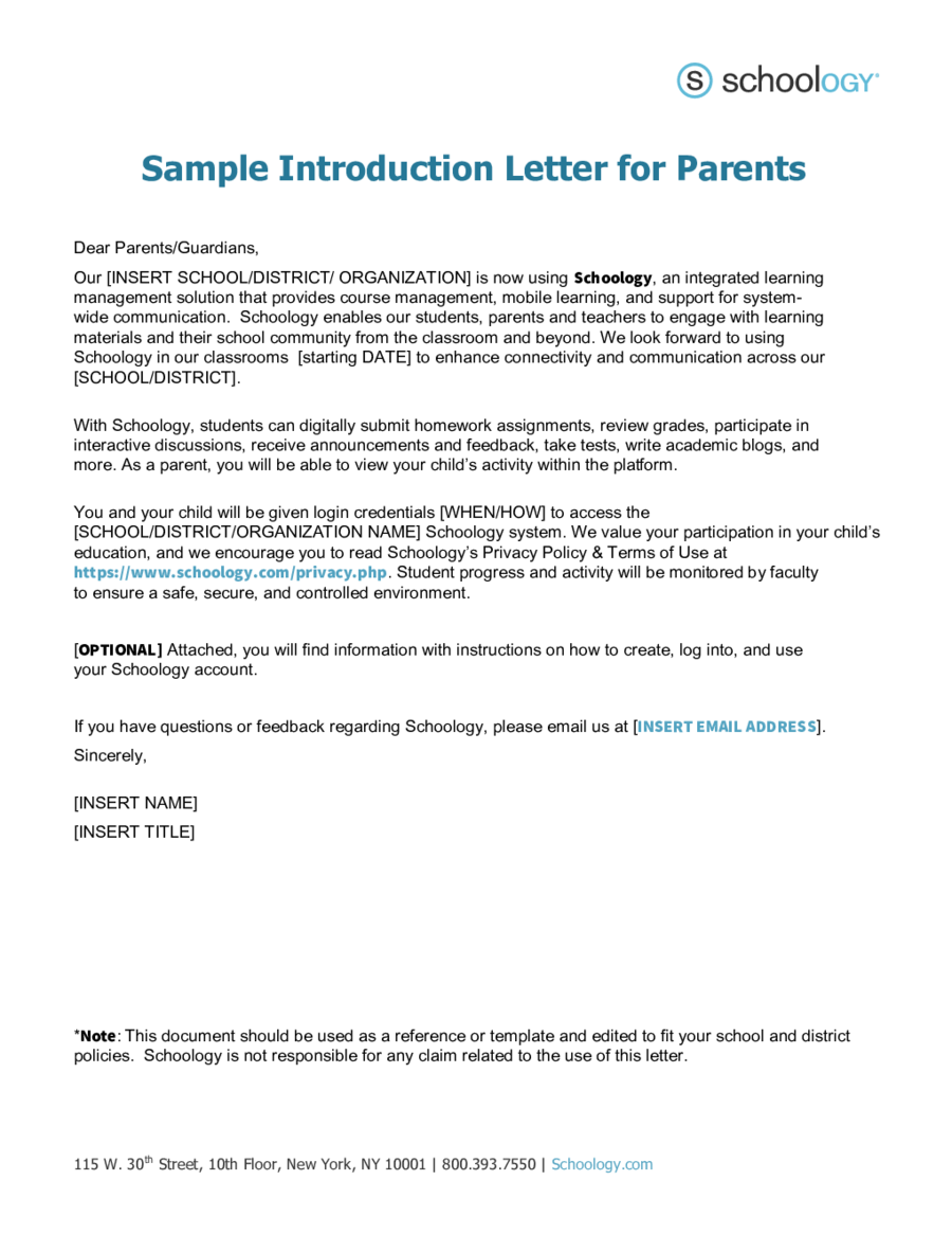 Letter Introduction How Write Sample  Home Design Idea