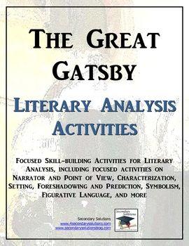 the great gatsby narrator analysis