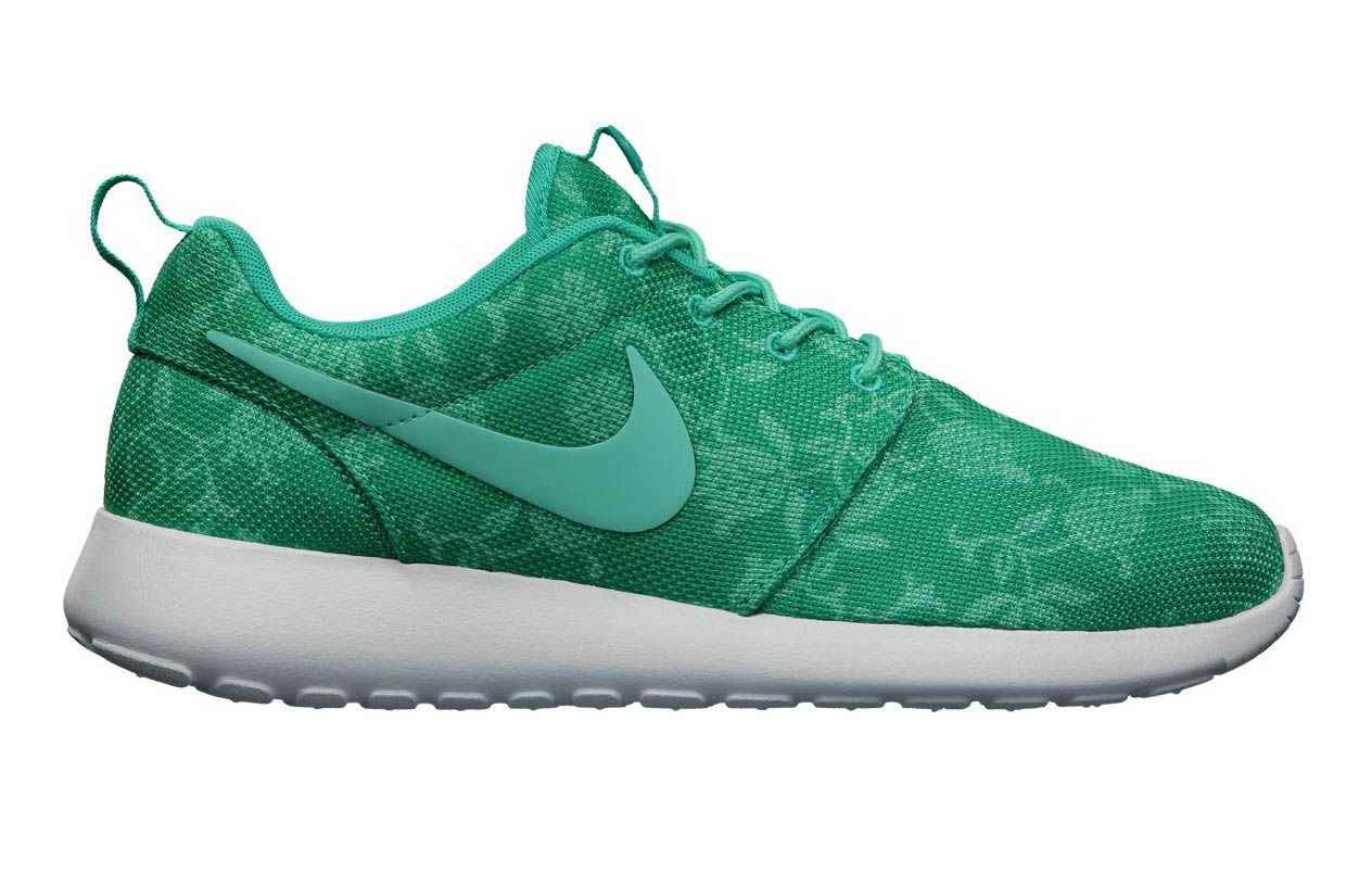 finest selection 38a53 aed85 mens nike roshe run floral green
