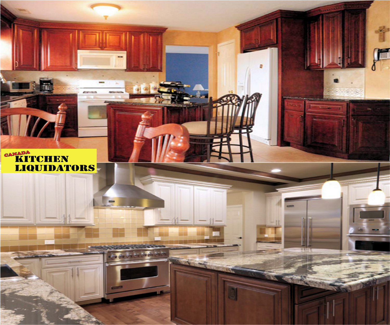 Buy Direct In Canada! At Canada Kitchen Liquidators, Our Custom Kitchen  Cabinets Are Offered