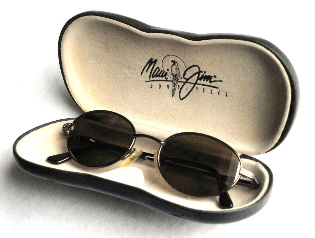 84b319efe688 Maui Jim Sunglasses MJ 146 19 Coral Reef w Case Vintage Discontinued ...
