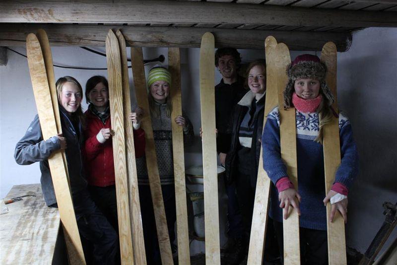 Valdres Folkehøgskule - Skimaking (1)