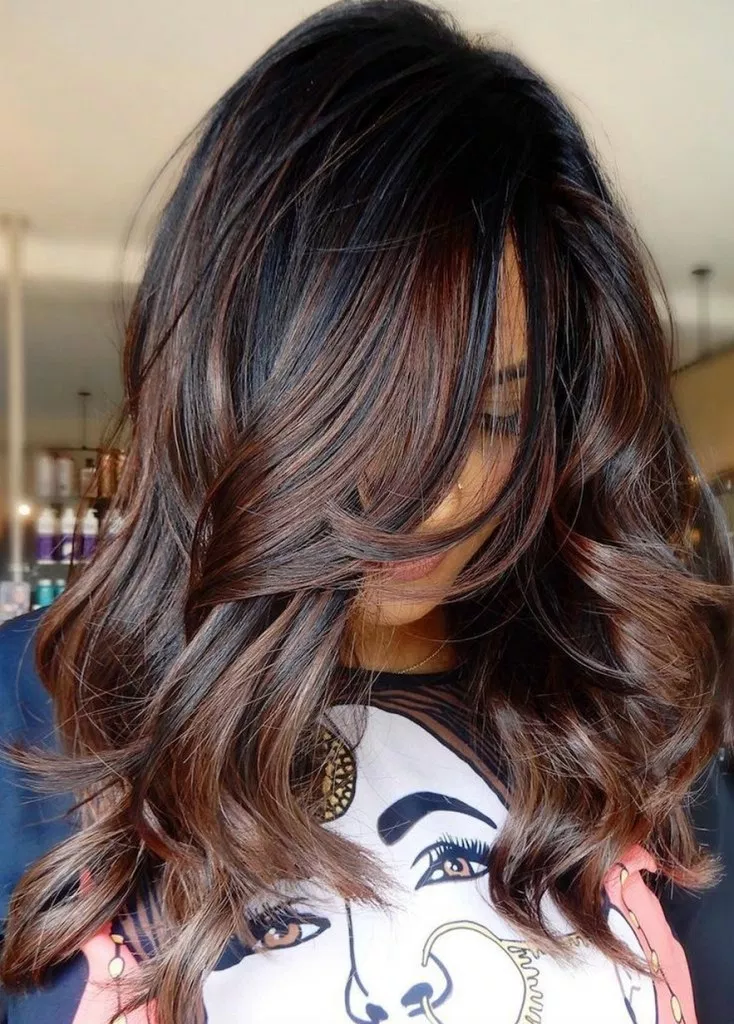70 Hair Colour Trends 2019 For Dark Skin That Make You Look Younger 26 Brunette Hair Color Spring Hair Color Fall Hair Color Trends