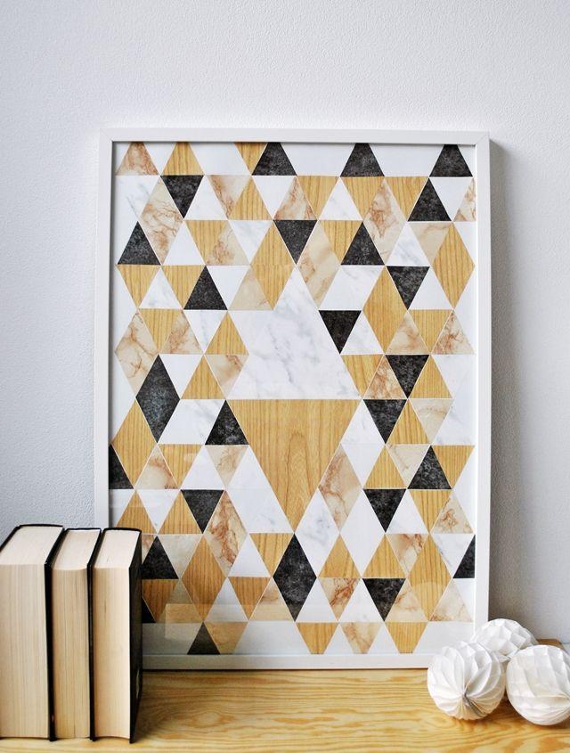 How To Easy Wall Art Dekorasi Buatan Sendiri Rumah Buatan Sendiri Seni Dinding Buatan Sendiri