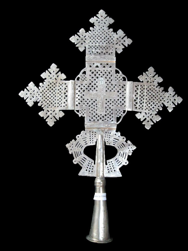 SALE! X-Large Ethiopian Processional Cross : Ethiopia Orthodox Coptic Church
