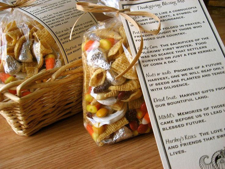 pinterest thanksgiving ideas   Thanksgiving Blessing Mix ...
