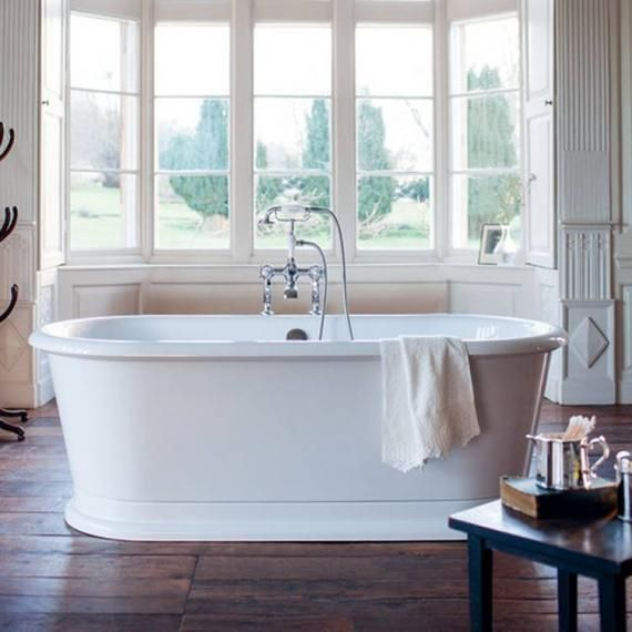 burlington london round freestanding bath | bathrooms | pinterest