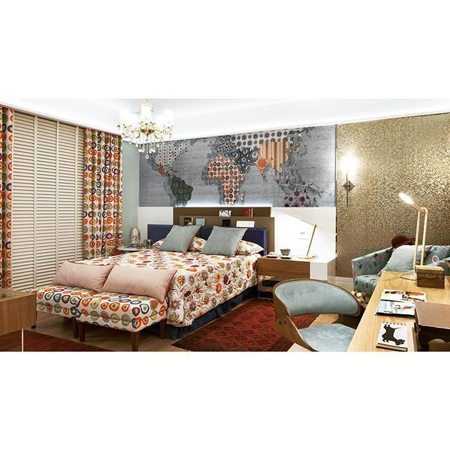 Mix de estampas amo Casa Cor 2014 #byzildahelal #decoração #interiordesign #homedecor #brasilemiami #grupocompose