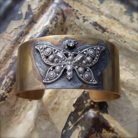 for Erin - butterfly cuff