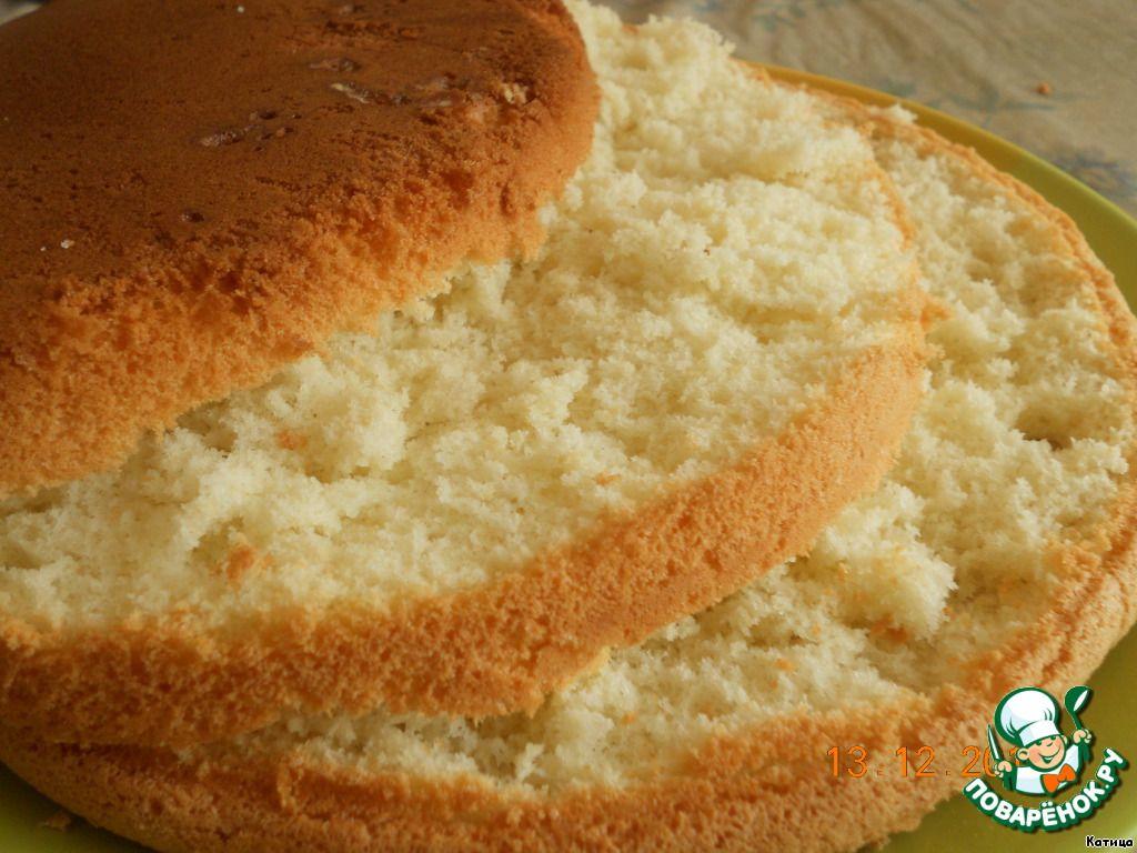 пышный и вкусный бисквит рецепты