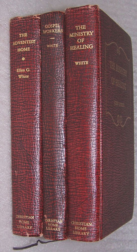 Lot of 3 books by ellen g white sda adventist hardcover christian lot of 3 books by ellen g white sda adventist hardcover christian home library fandeluxe Gallery