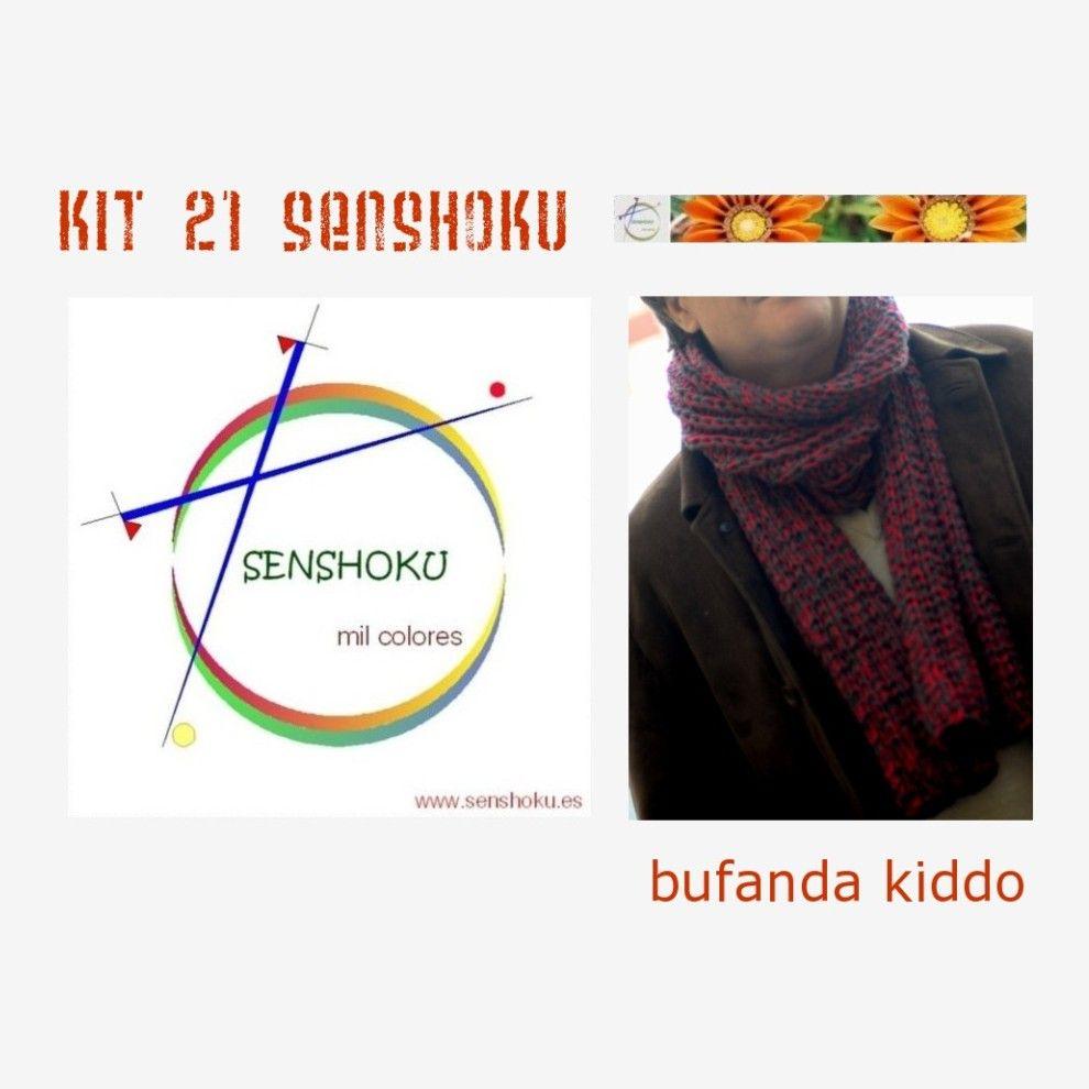 Kit bufanda Kiddo, una bufanda super-suave pensada para ellos, en DROPS Big Merino. http://www.senshoku.es/es/kits/3000021-kit-bufanda-kiddo.html