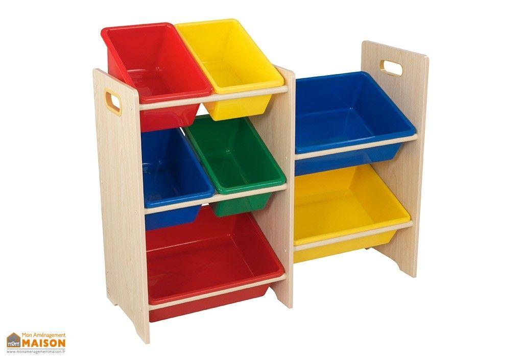 meuble de rangement en bois avec