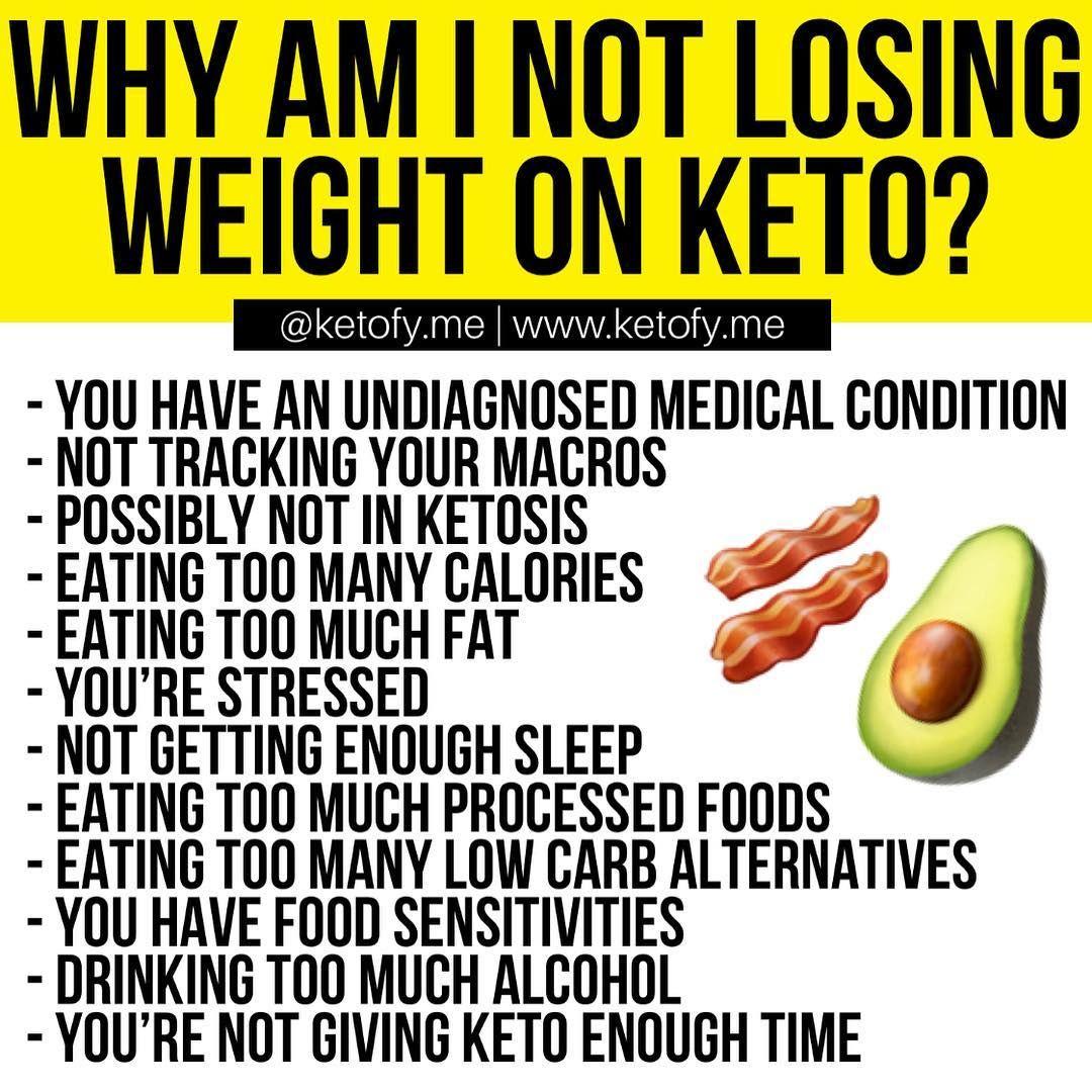 keto diet not loosing weight