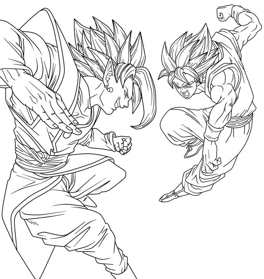 Goku Vs Zamasu by SaoDVD | DBZ | Pinterest | Dragon ball, Dragones y ...