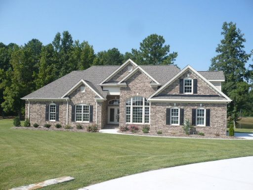 Pin By Kathleen Crocker On Home Styles Looks Ranch Style House Plans Brick House Plans Brick Ranch Houses
