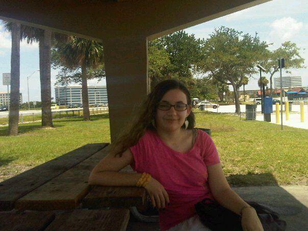 Katie (oldest daughter) in Tampa