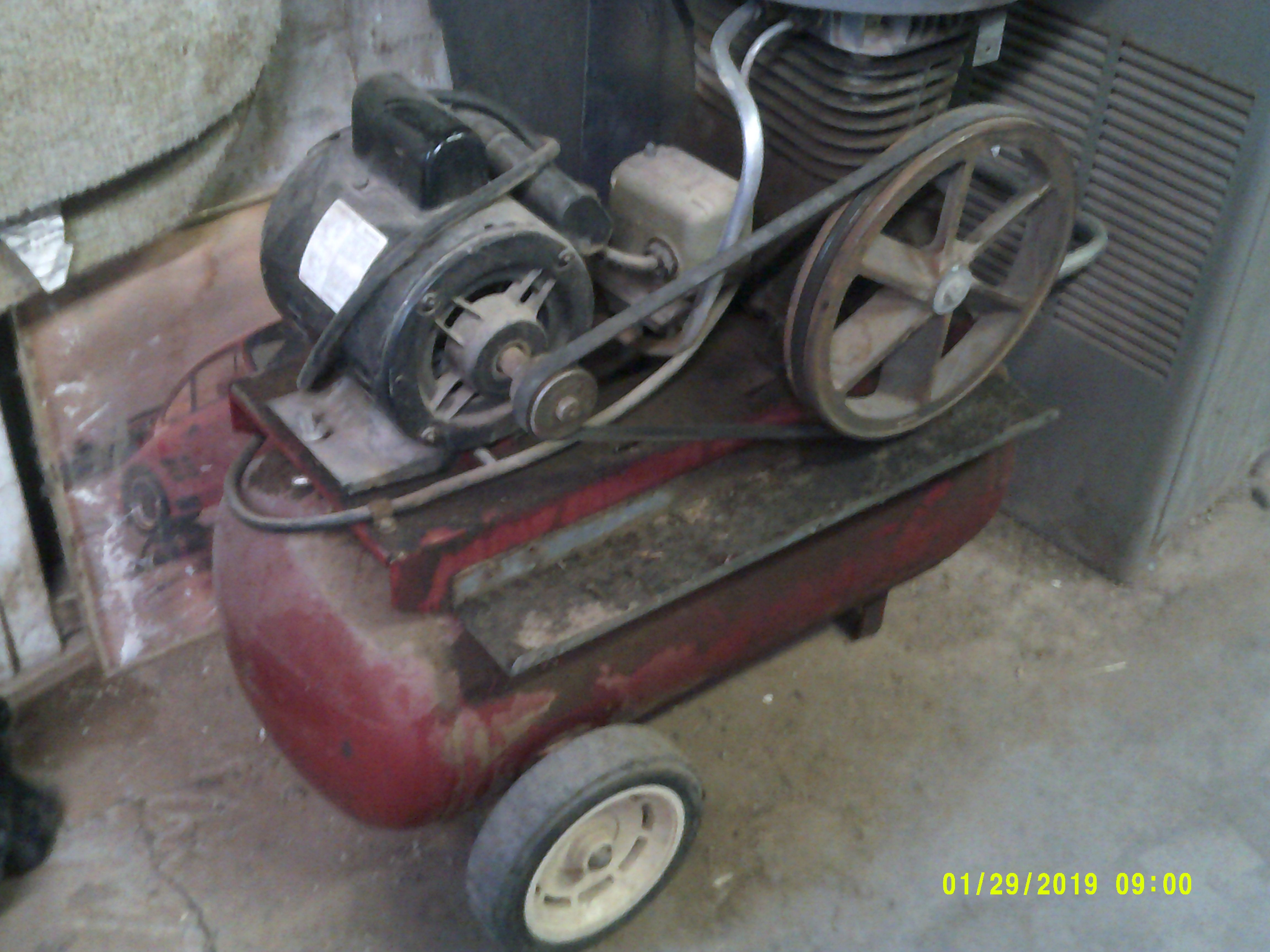 Up for sale is a used Craftsman Two Cylinder Air
