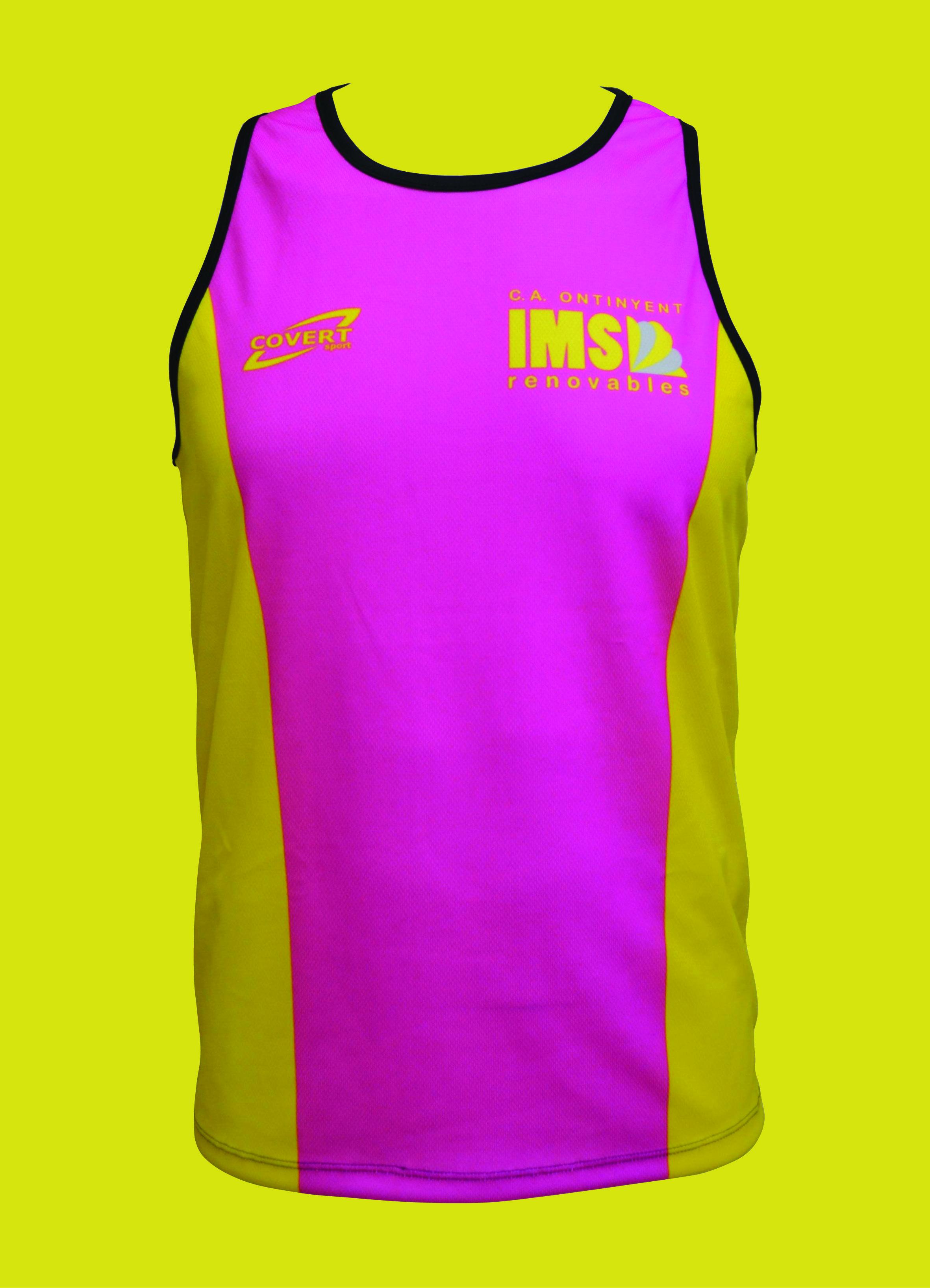 Covert Sport - Ropa Deportiva Personalizada - Camiseta Runner Tirantes Unisex