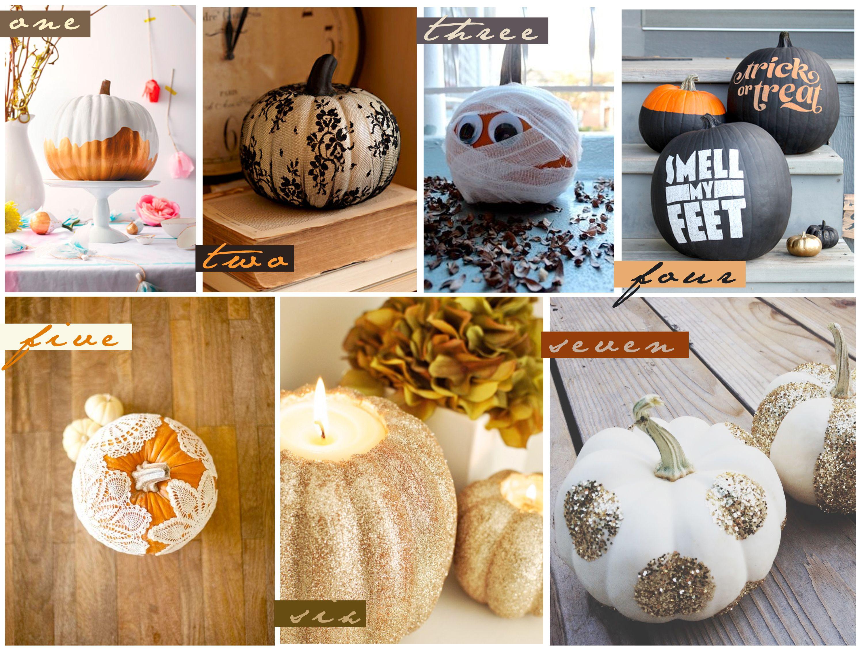 No carve pumpkin decorating ideas guru koala pumpkin ideas