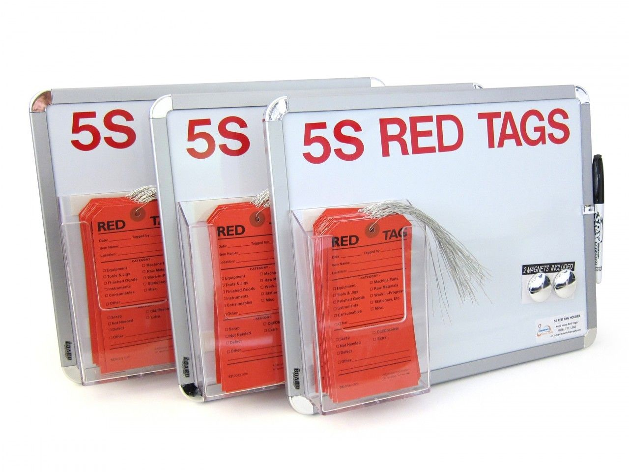 Tool Tags: ... Lean Or 5S Program Red Tags For