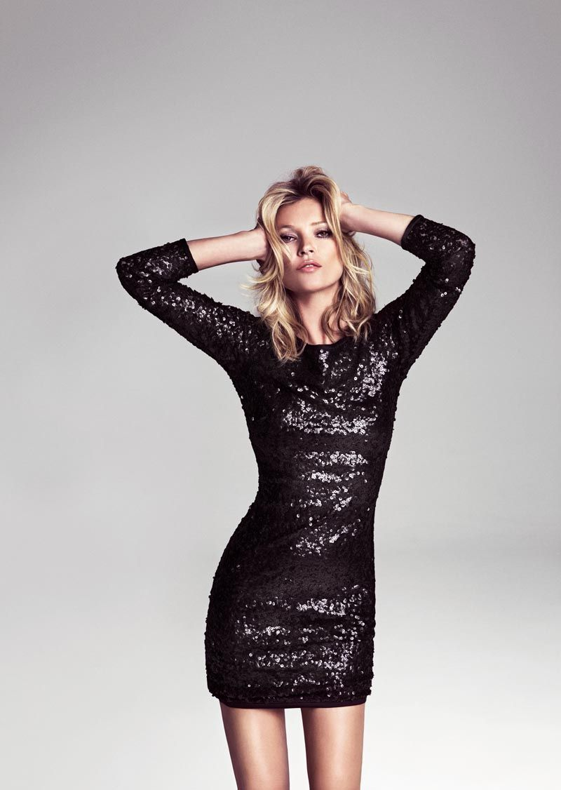 Kate Moss is On Trend for Mango\'s Winter 2012 Campaign by Inez ...