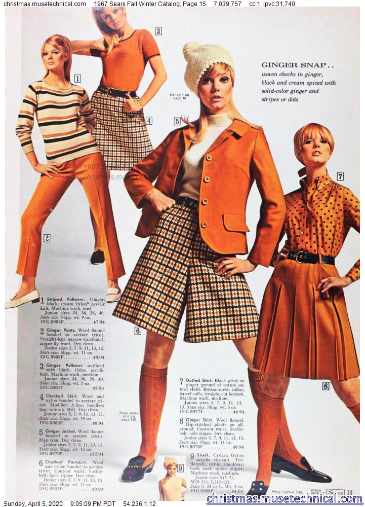 1967 Sears Fall Winter Catalog, Page 15 - Christma