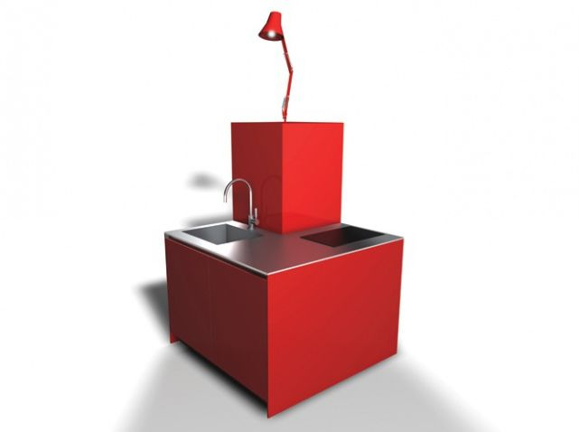 Meuble gain de place siematic Ce cube futuriste disponible en pas