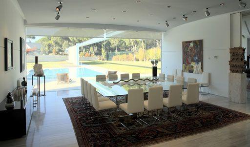 Comedores espectaculares de lujo comedores futuristas minimalistas ...