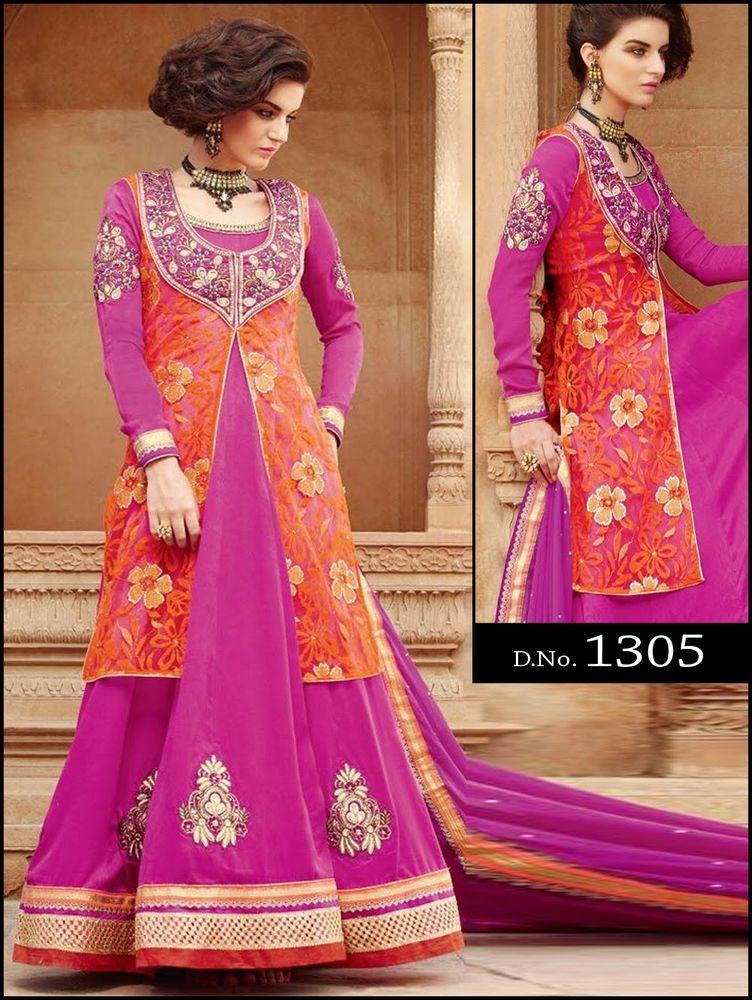 Anarkali New Pakistani Kameez Designer Salwar Indian Ethnic Suit Bollywood Dress #KriyaCreation
