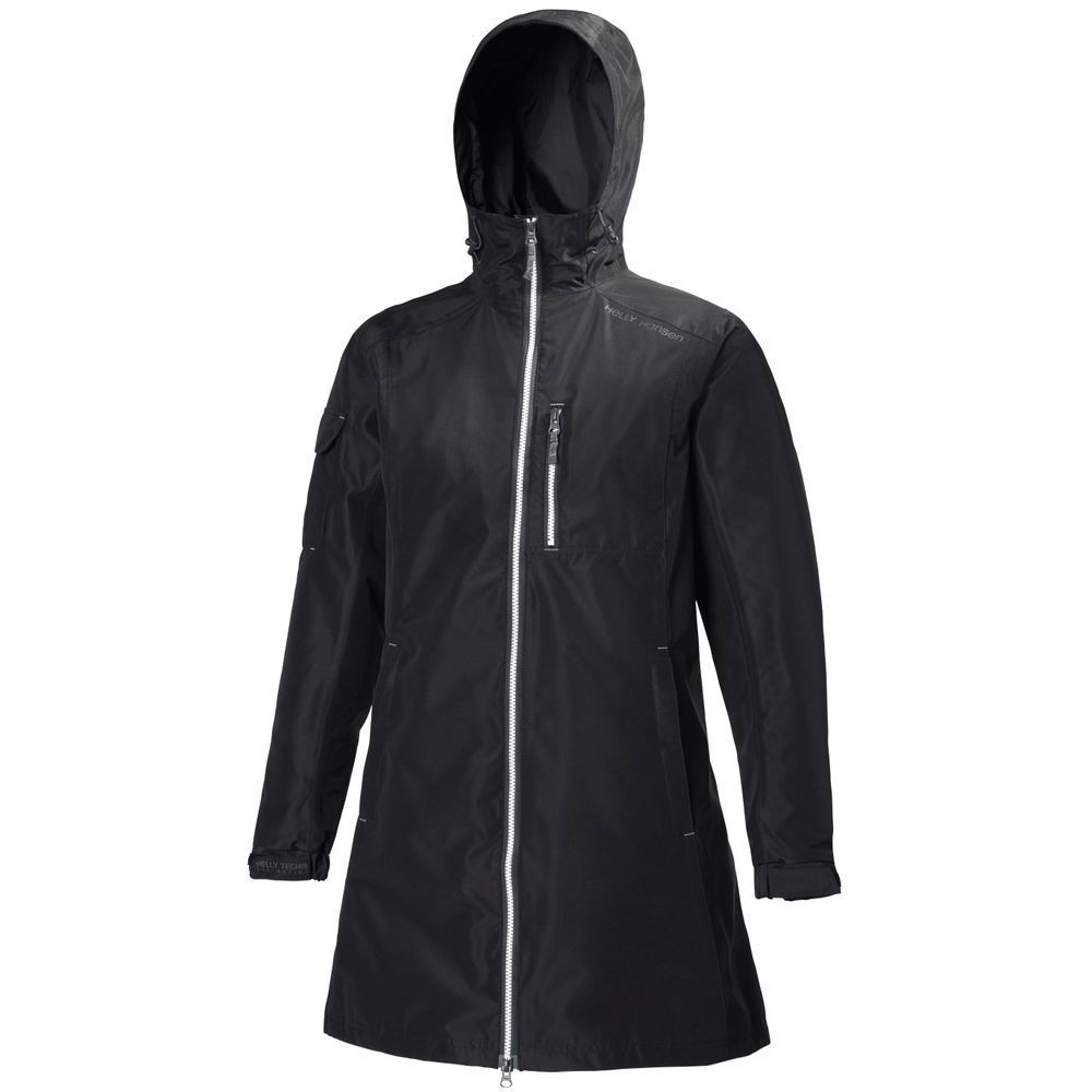 Helly Hansen Long Belfast Rain Jacket (Women's) - Mountain Equipment Co-op. Free Shipping Available