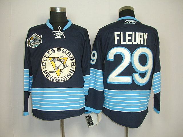 sports shoes 90f8a d55f6 Pittsburgh Penguins 29 Marc-Andre FLEURY 2011 Winter Classic ...