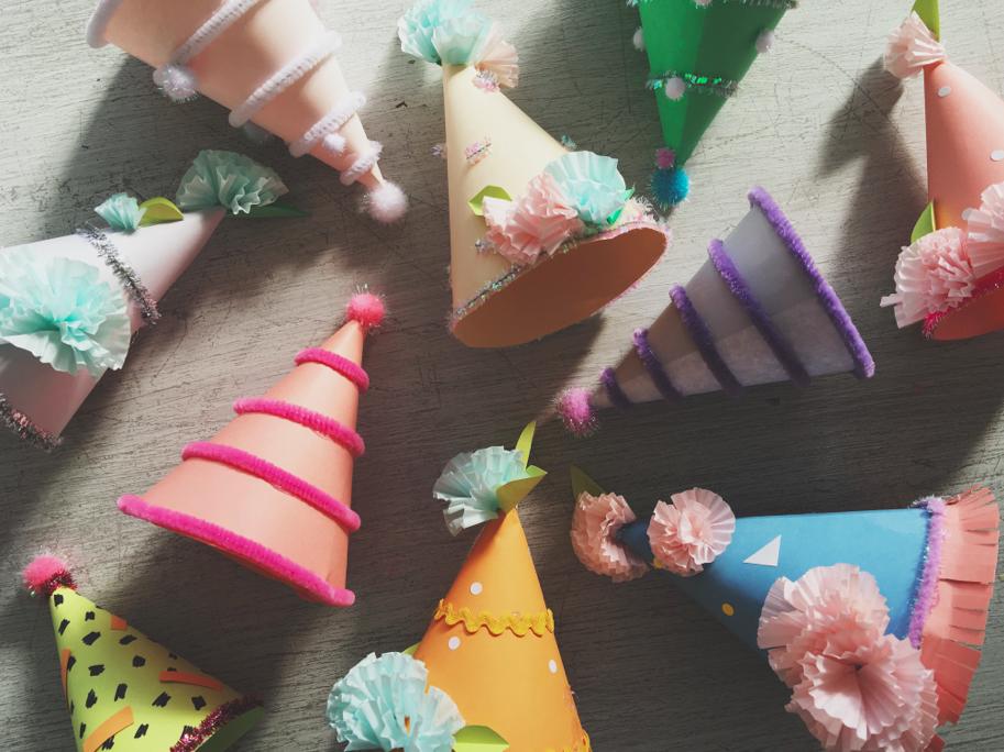 Petite Party Hats | Rachel Burke
