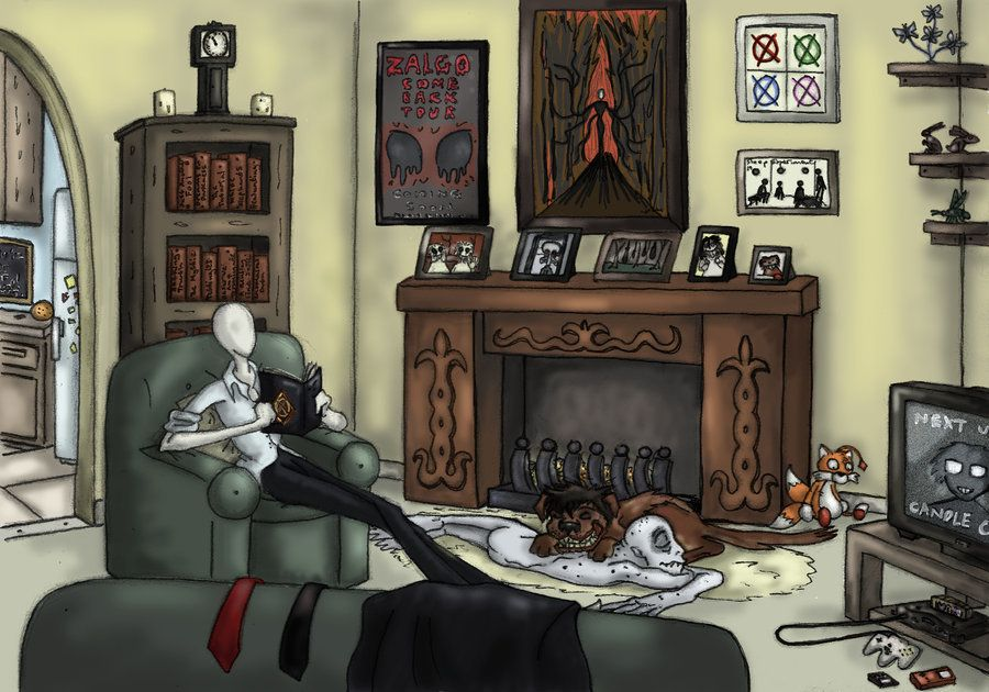 creepypasta family...when they are not hunting