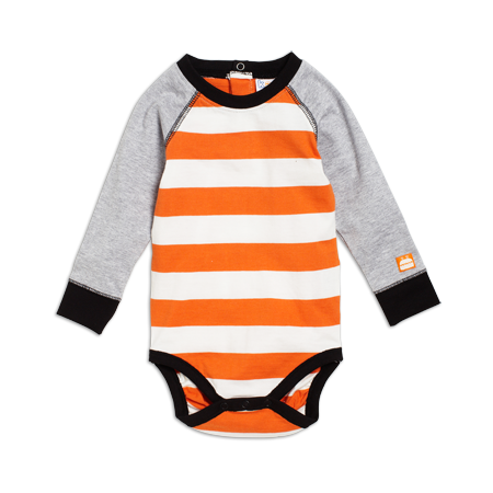 Kaxs by KappAhl, Orange Body, Single jersey, Long,