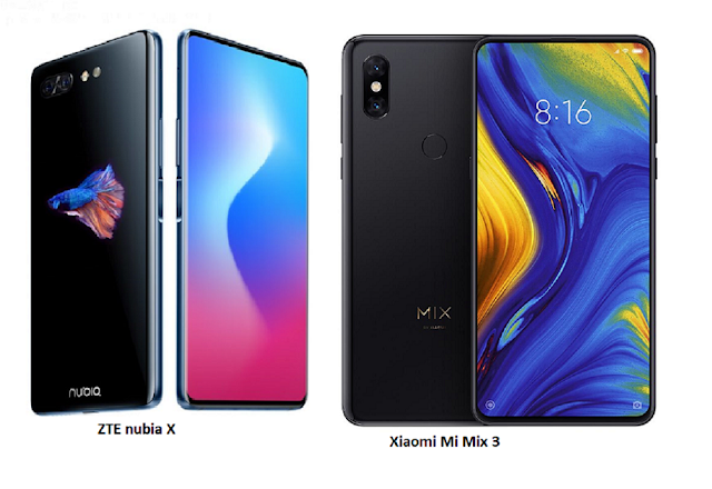 Tspn1 Xiaomi Mi Mix 3 Vs Zte Nubia X Specifications Comparisons Xiaomi Samsung Galaxy Phone Smartphone
